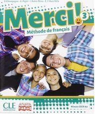 MERCI! 3 Pack libro y cuaderno francés