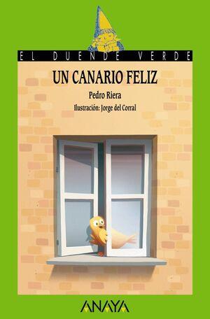 Un canario feliz