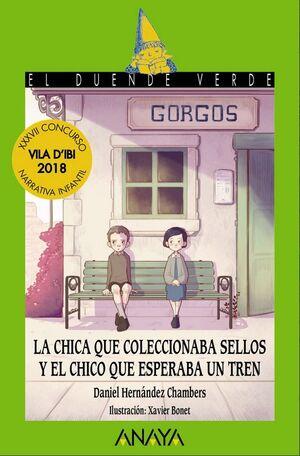 LA CHICA QUE COLECCIONABA SELLOS Y EL CHICO QUE ESPERABA UN TREN