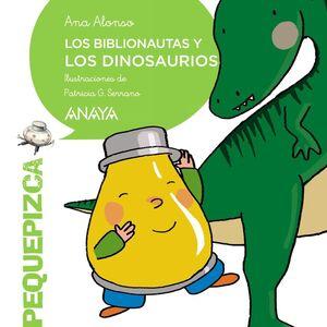 Los Biblionautas y los dinosaurios