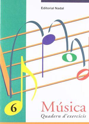 Quadern d'exercicis Música, n  6
