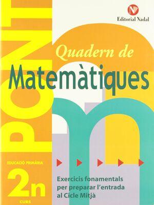 Pont matemàtiques, 2 Educació Primària (pas de 2n a 3r cicle)