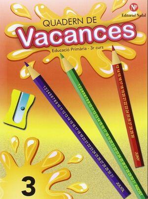 Vacances, 3 Educació Primària