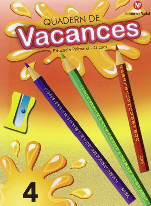 Vacances, 4 Educació Primària