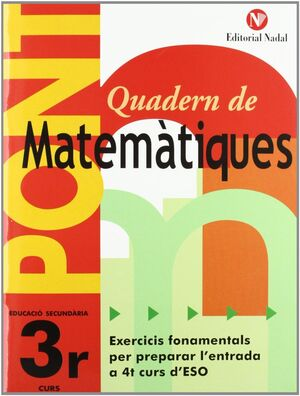Pont, matemàtiques, 3 ESO