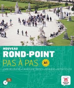 Nouveau Rond-Point pas à pas. Libro del alumno + Cuaderno de ejercicios + CD. Ni