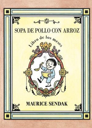 SOPA DE POLLO CON ARROZ. LIBRO DE LOS MESES