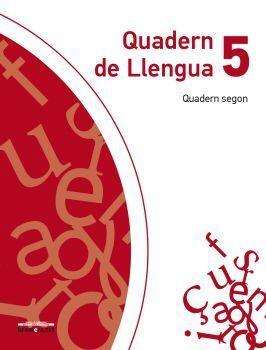 Quadern de llengua 5. Quadern segon