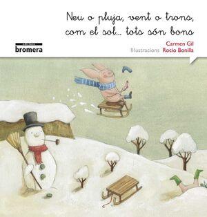 Neu o pluja, vent o trons, com el sol...tots són bons