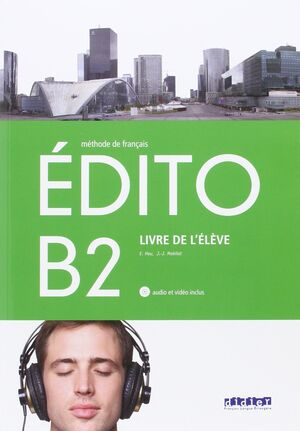 EDITO B2 ELEVE+CD+DVD