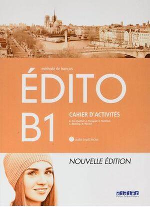 EDITO B1 EXERCICES+CD ED.18