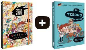PACK El tesoro perdido + NoteBook