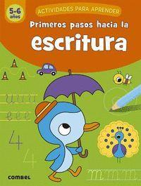 PRIMEROS PASOS HACIA LA ESCRITURA 5-6 AÑOS