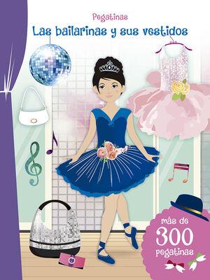 Pegatinas - Las bailarinas y sus vestidos