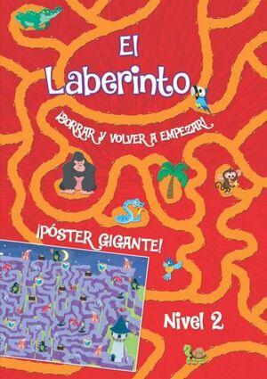 LABERINTO BORRAR Y VOLVER A EMPEZAR NIVEL 2