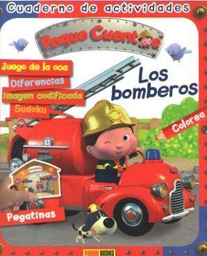 BOMBEROS, LOS - CUADERNO DE ACTIVIDADES PEQUE CUENTOS