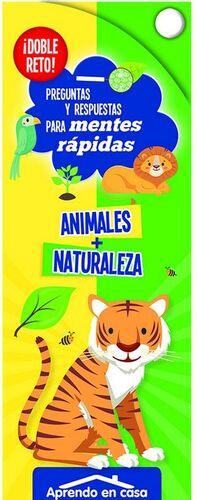 APRENDO EN CASA DOBLE RETO - ANIMALES + NATURALEZA