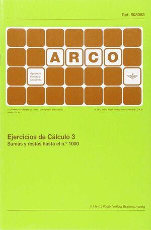 Arco - Ejercicios de cálculo 3. Sumas y restas hasta el n 1000