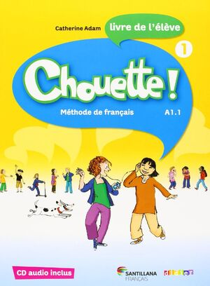 CHOUETTE 1 LIVRE ELEVE + CD