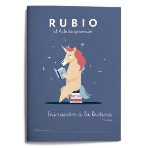 INICIACION A LA LECTURA RUBIO +4 A¥OS