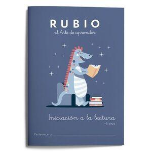 INICIACION A LA LECTURA RUBIO +5 A¥OS