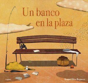 Un banco en la plaza