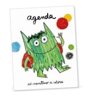 Agenda  - Monstruo de los colores va al cole