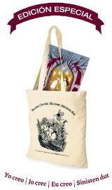 Las hadas de Cottingley con bolsa de tela