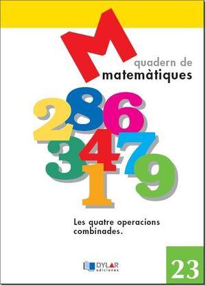 MATEMATIQUES - QUADERN 23
