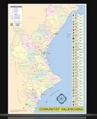 Comunitat Valenciana. Mapa escolar 50x70cm