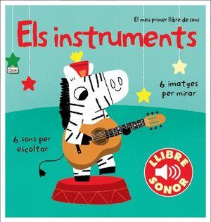 Els instruments. El meu primer llibre de sons