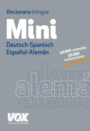 DICC. MINI ESPAÑOL-ALEMÁ
