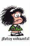 Mafalda estoy exhausta - grande