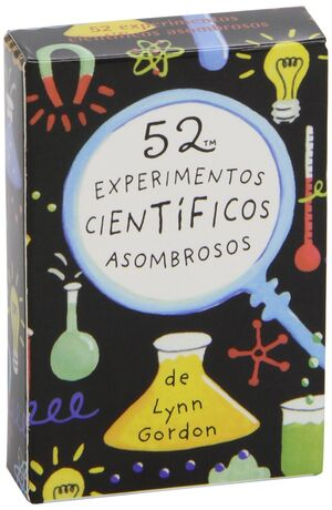 Baraja. 52 experimentos cientificos asombrosos