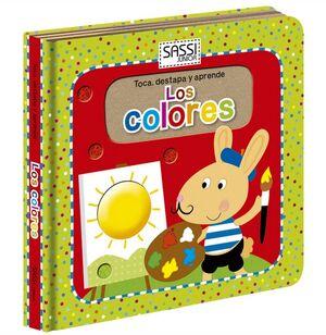 Los colores (toca, destapa y aprende)