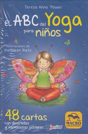 ABC del yoga para niños. 48 cartas con divertidas y fantasiosas posturas
