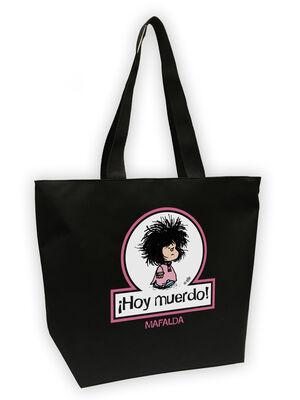 Bolsa Mega shopper Mafalda. Hoy muerdo