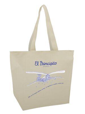 Bolsa Mega shopper El Principito. Sólo con el corazón