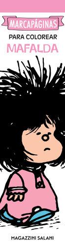 Marcapáginas para colorear (Mafalda)