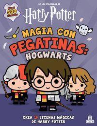 Magia con pegatinas: Hogwarts
