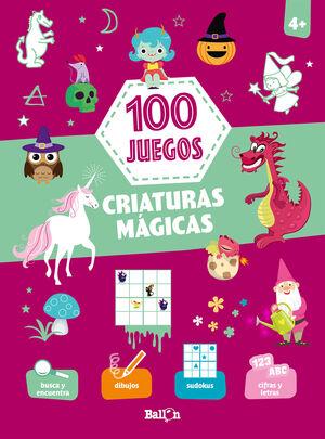 100 JUEGOS CRIATURAS MAGICAS