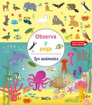 OBSERVA Y PEGA - LOS ANIMALES