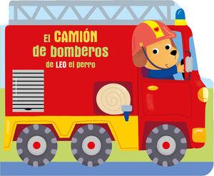 EL CAMIÓN DE BOMBEROS DE LEO EL PERRO