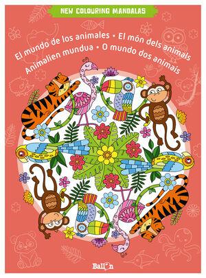 NEW COLOURING MANDALAS-MUNDO DE LOS ANIMALES