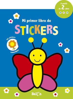 Mi primer libro de stickers - Mariposa
