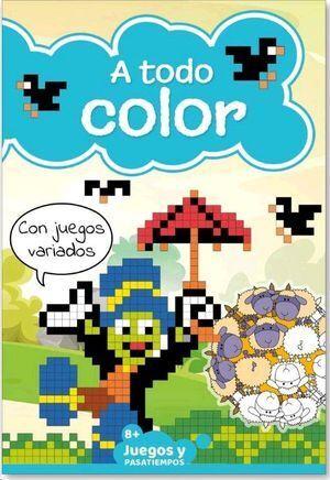 PASATIEMPOS INF A TODO COLOR 01  8-12 AÑ