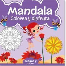 MANDALA JUNIOR COLOREA Y DISFRUTA 05
